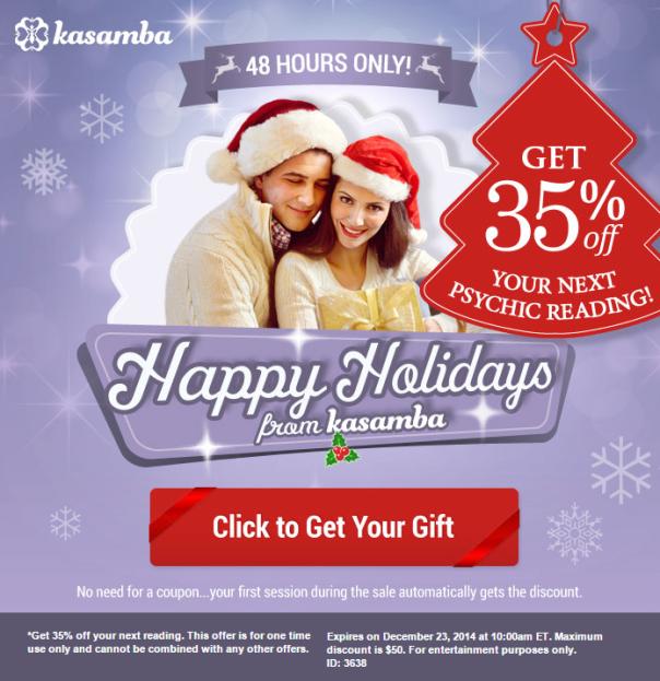 35% OFF site wide sale on kasamba.com